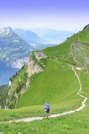 J) Etappe: Gratwanderweg Stoos