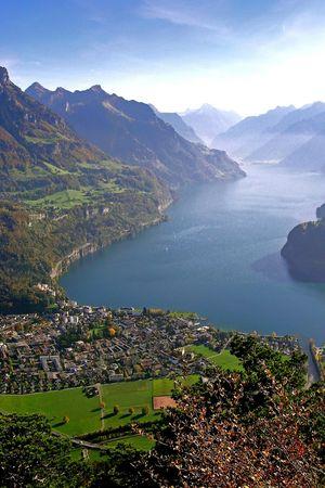 A) Etappe: Brunnen - Rigi Scheidegg