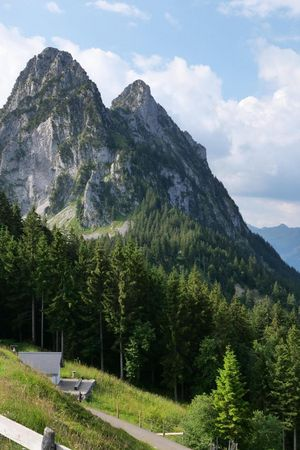 F) Etappe: Mostelberg - Mythen - Holzegg