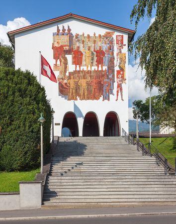 Die Schweiz zwischen Geschichte und Mythos