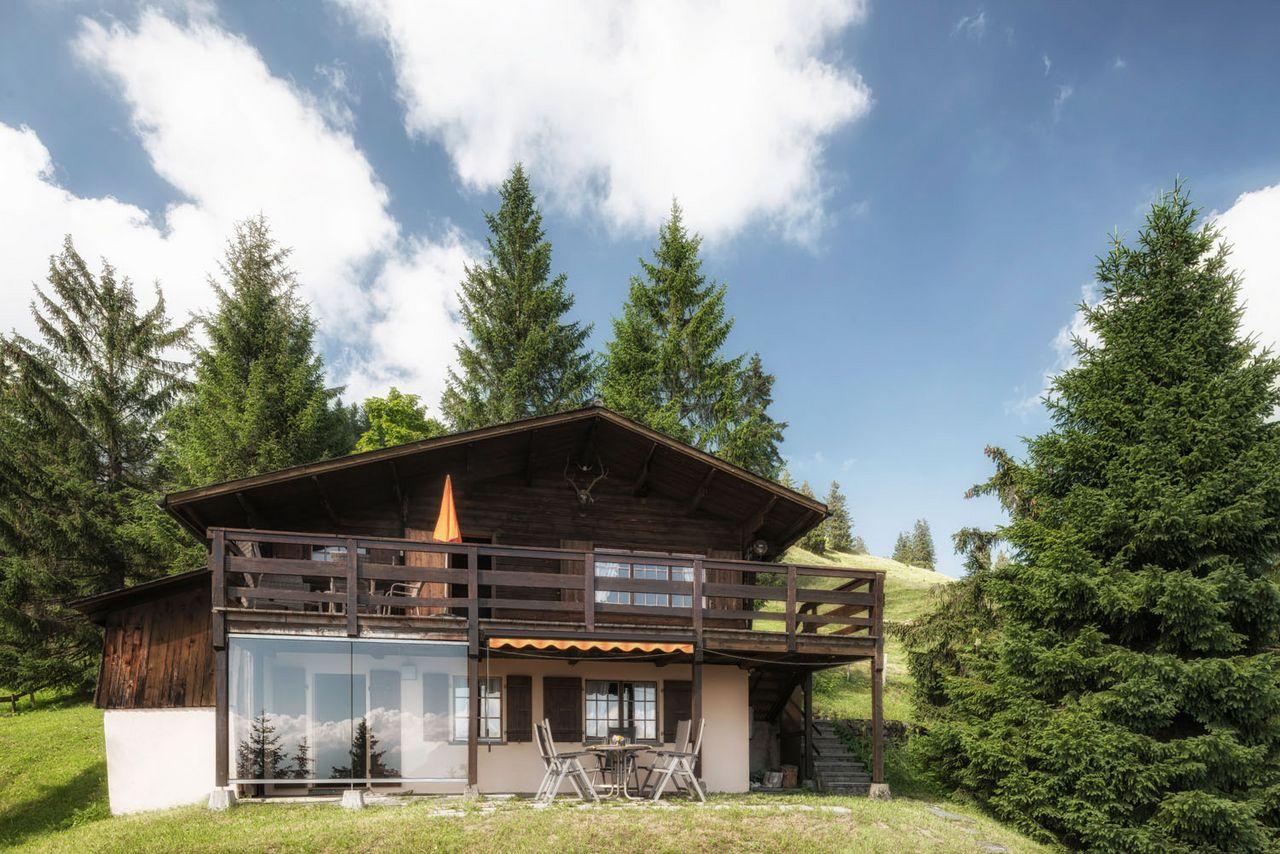 Chalet Stoll, (Schwyz). 4.5-Zimmer Wohnung