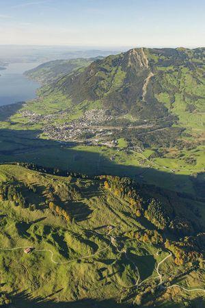 Bergsturzgebiet Goldau