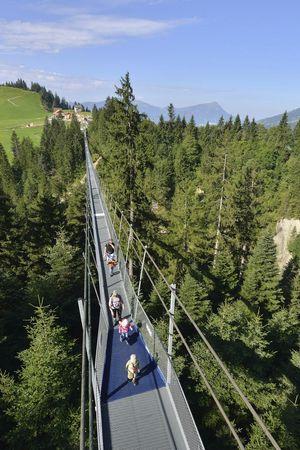Fussgängerhängebrücke «Skywalk»