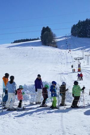 Skilift Bennau bei Einsiedeln
