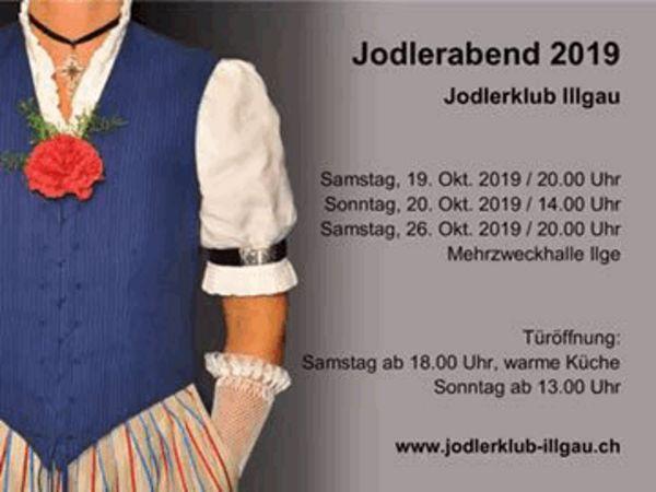 Jodlerabend 2019