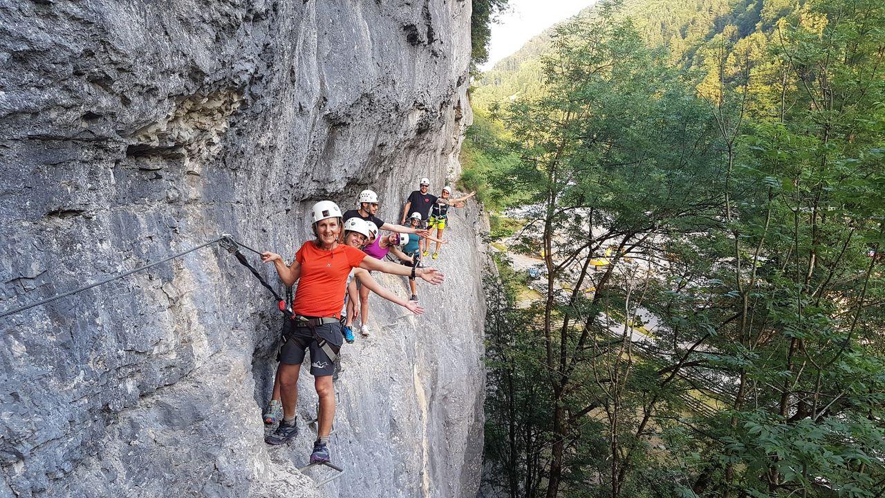 Klettersteig Muotathal