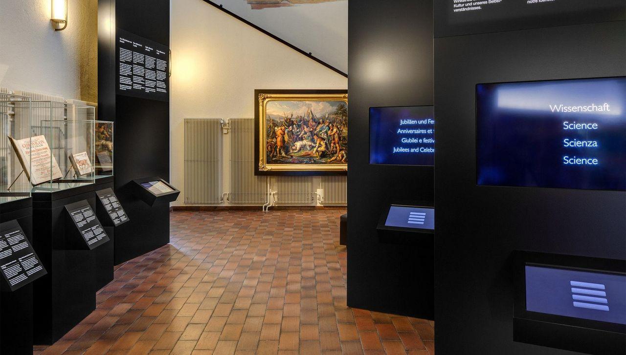 Bundesbriefmuseum - Innenansicht