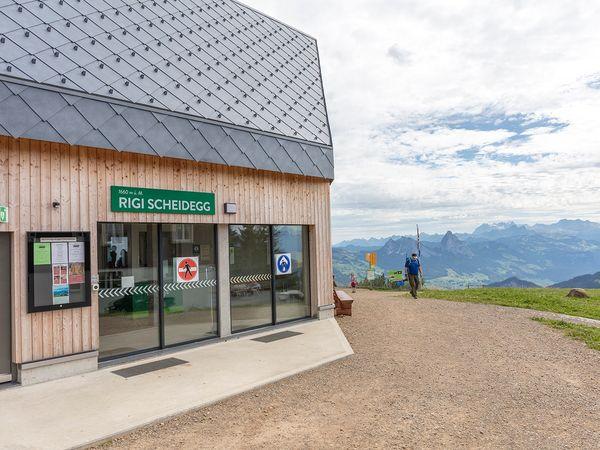Etappe: Rigi Scheidegg - Rigi Kaltbad | Schwyzer Tal- & Gipfeltour