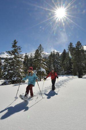 Schneeschuhtour Waldhüttli