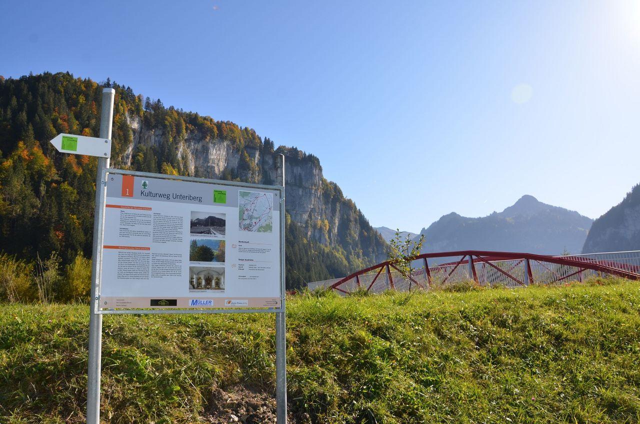Kulturweg Unteriberg
