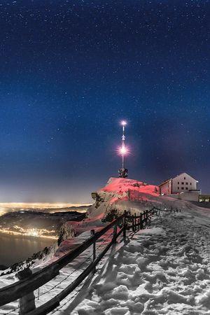 Rigi - Lichterspiel am Berg