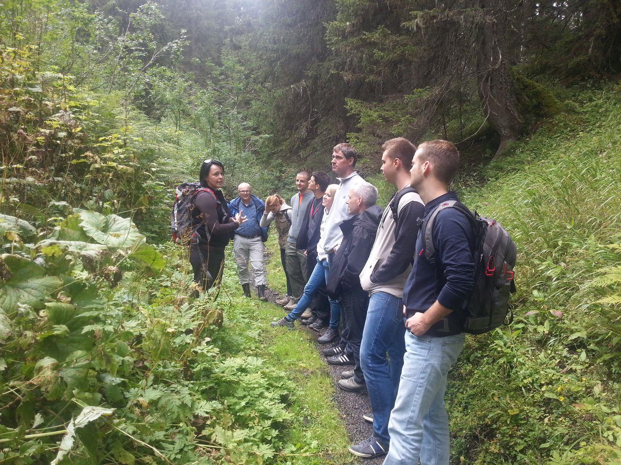 Sommer-Ferienprogramm, Bödmeren-Urwaldexkursion