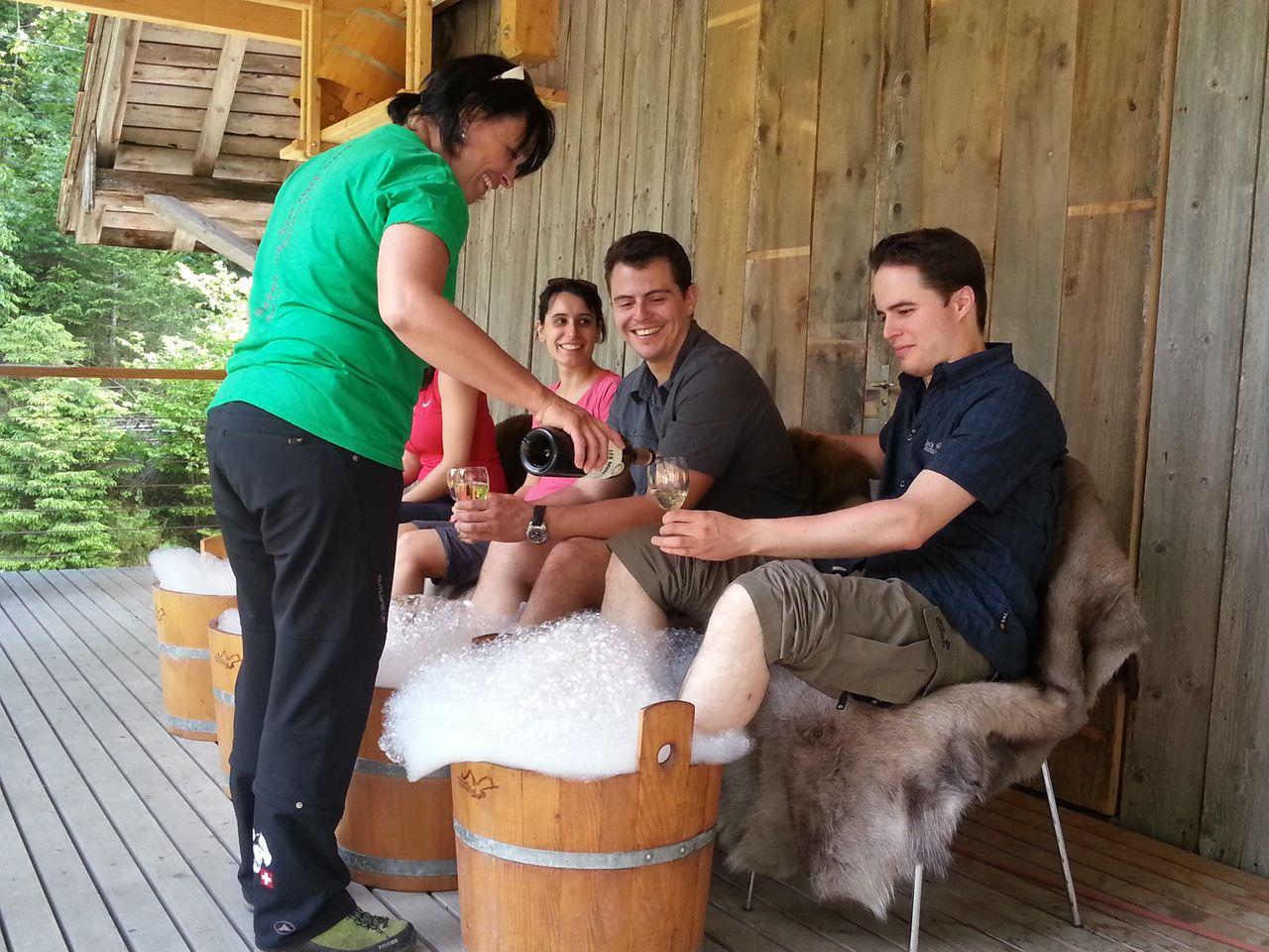 Sommer-Ferienprogramm, Alpiner-Wellnesstag