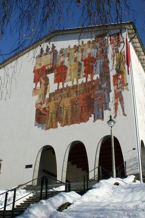 Bundesbriefmuseum im Winter