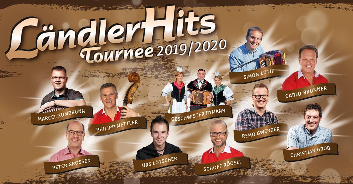DAS ZELT: Ländlerhits - Tournee 2019 / 2020