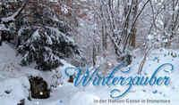 Winterzauber Hohle Gasse