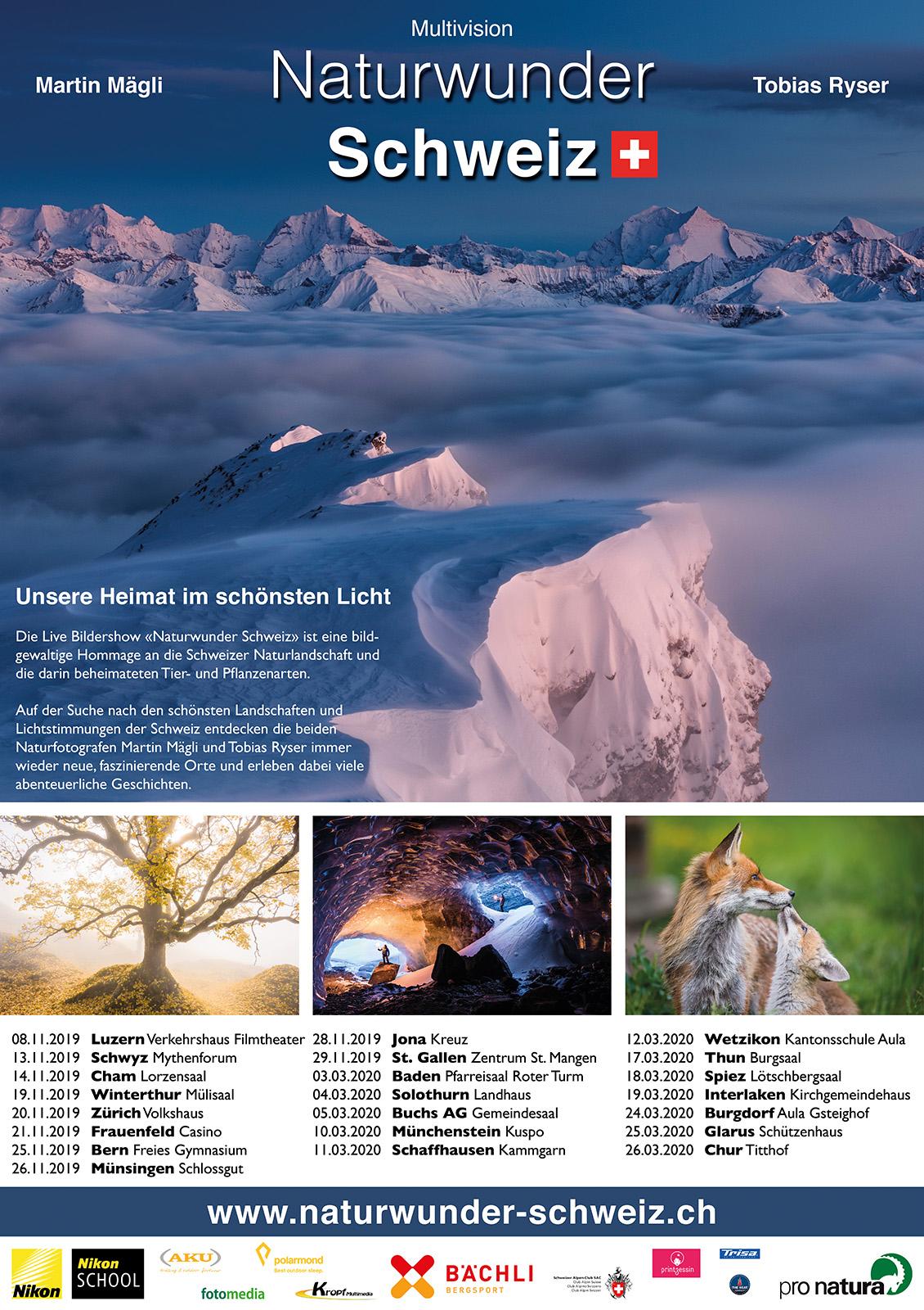 Multivision Naturwunder Schweiz