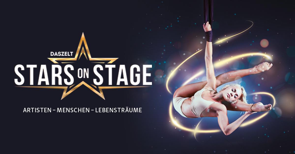 DAS ZELT: Stars on Stage– Artisten - Menschen - Lebensträume