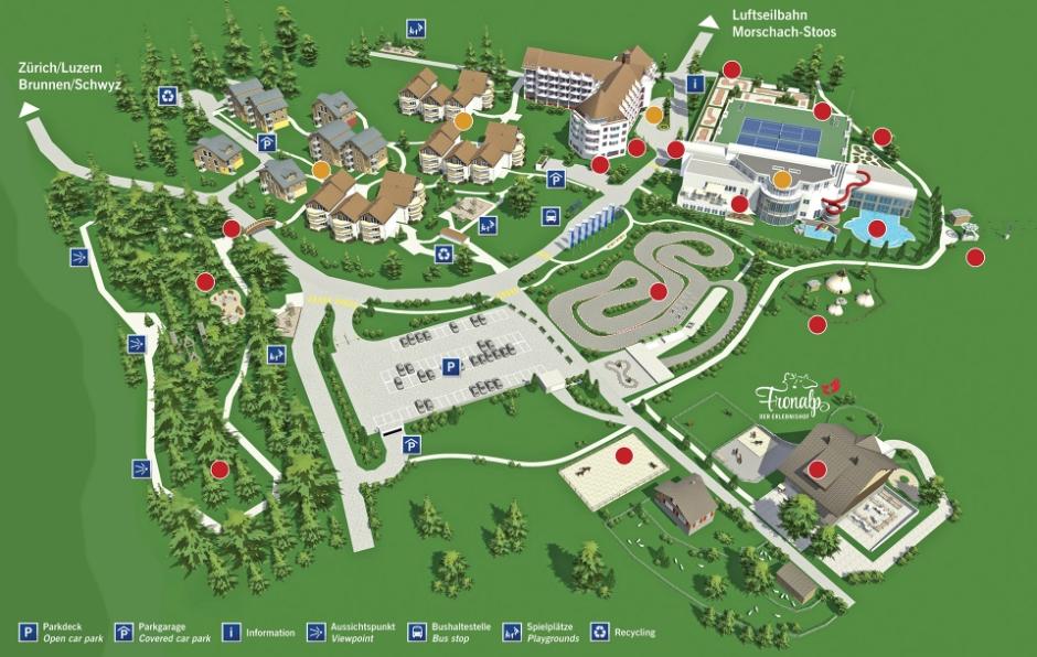 Swiss Holiday Park Morschach, App. 3-Zimmer/3-pièces