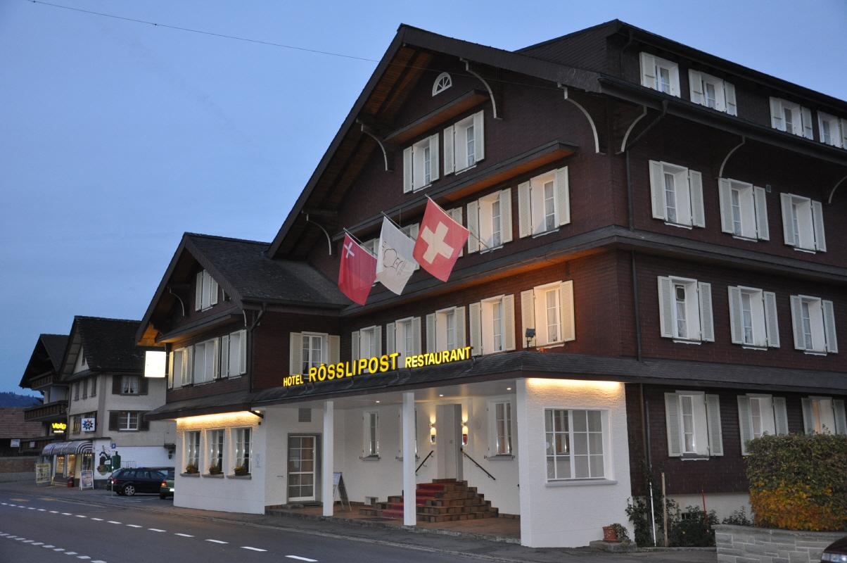 Landgasthof Rösslipost - Unteriberg