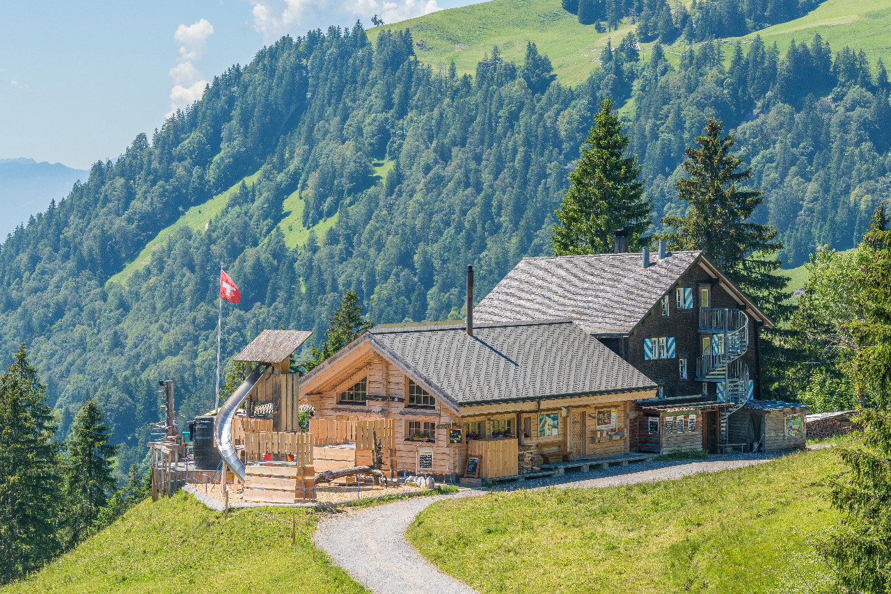 Ferien-Lagerhaus Sonnenhütte (Uto Haus) - Oberiberg