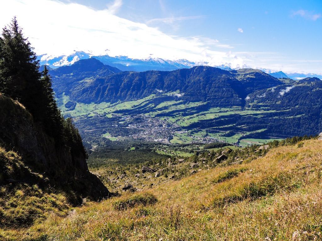 Bergsturzspur