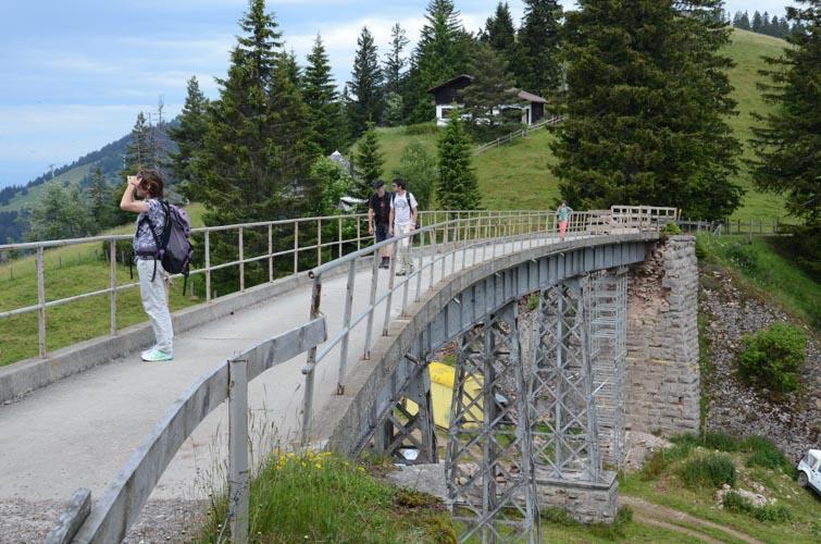 Rigi-Panoramaweg, Rigi First - Rigi Scheidegg