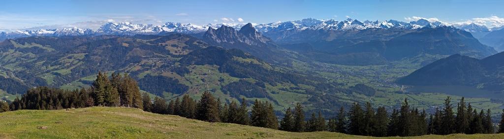 Etappe: Wildspitz - Sattel - Mostelberg | Schwyzer Tal- & Gipfeltour