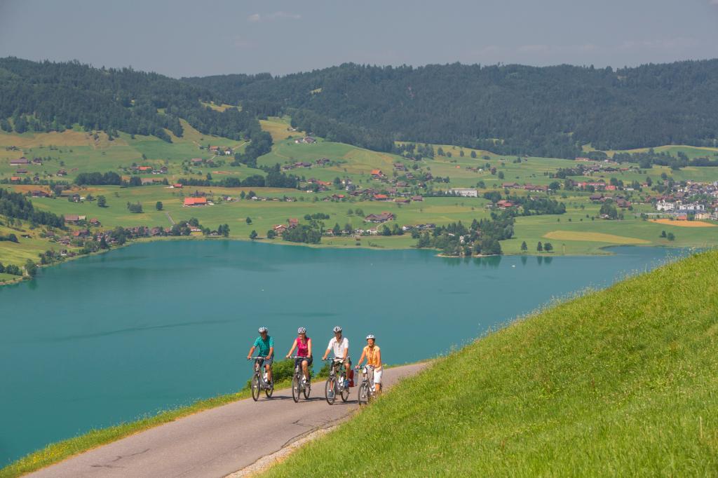 Herzroute - Etappe 8: Zug-Einsiedeln (SchweizMobil Route 99)