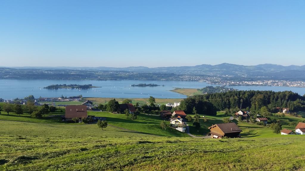 Seen-Route - Etappe 7 Zug-Einsiedeln - SchweizMobil Route 9