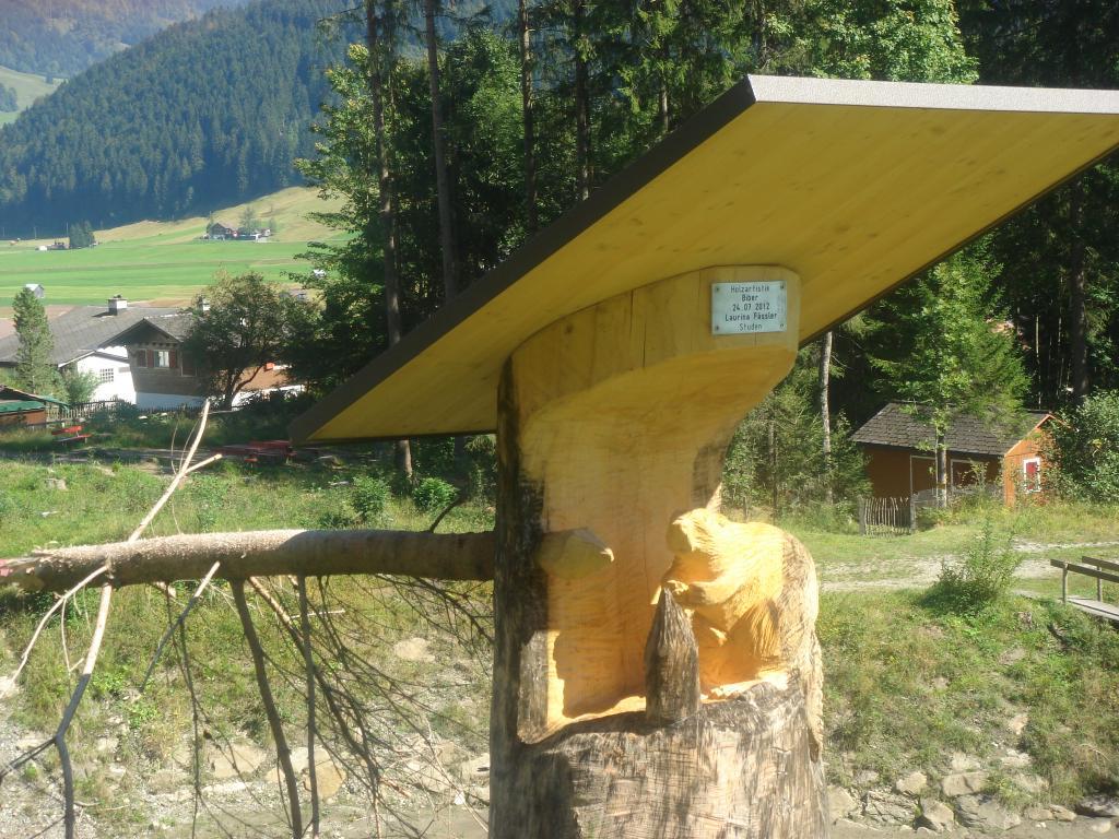 Holzskulpturenweg Unteriberg