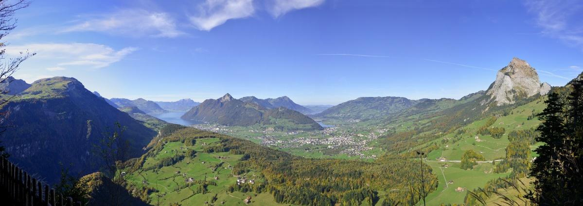 Etappe: Rotenflue - Ibergeregg - Illgau | Schwyzer Tal- & Gipfeltour
